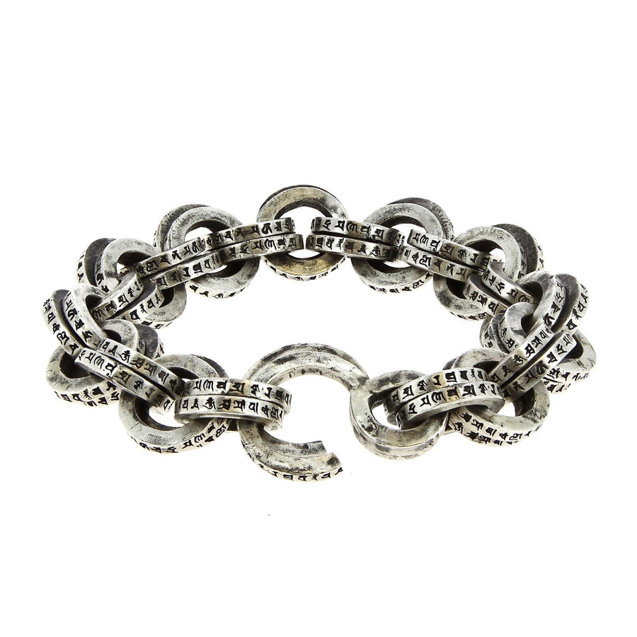 Bracelet Buddhism Spell Double Link