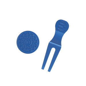 NYC Major Divot Tool Set (Blue)