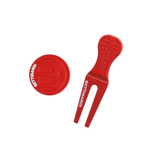 NYC Major Divot Tool Set (Red)