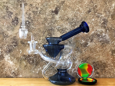 New! Double Recycler Glass 8