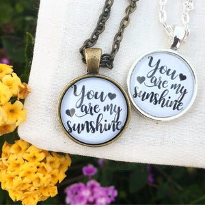 You are My Sunshine Mini Necklace - Redeemed Jewelry