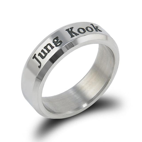 BTS Bias Rings