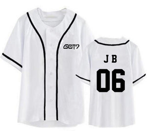 GOT7 Bias Button Up T-Shirts