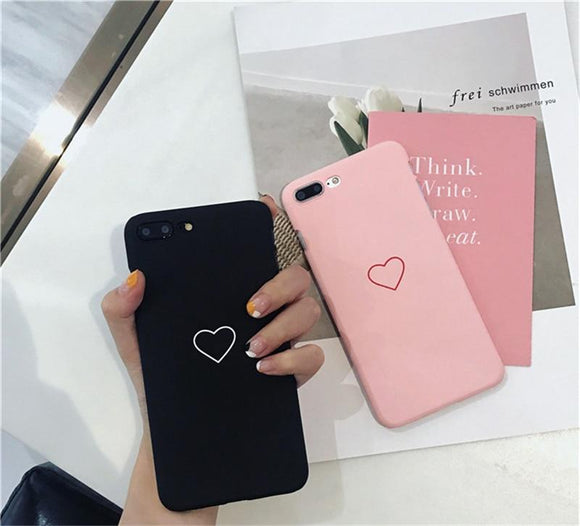 Minimalist Heart iPhone Case