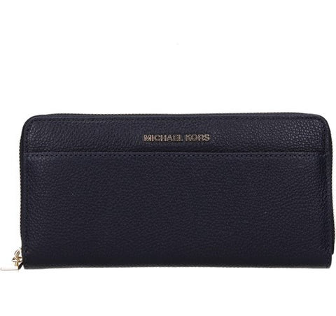 Michael Kors Michael Kors Mercer Continental Wallet (Admiral) Small Leather Goods - DNovo