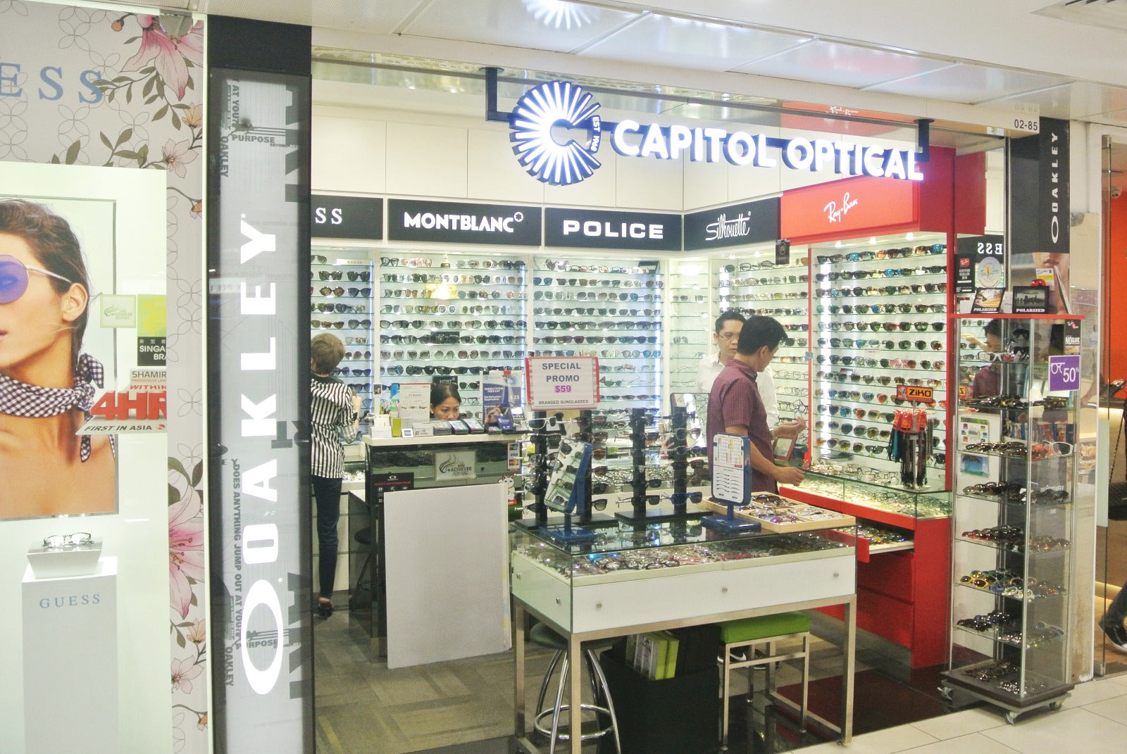 Capitol Optical Lucky Plaza M85