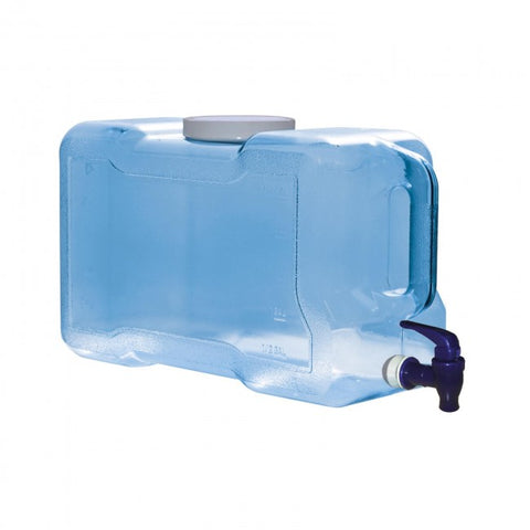 3 Gallon BPA Free Refrigerator Bottle with Dispenser - Blue