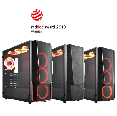 Apexgaming Unveils Reddot Winner Hermes Mid-Tower Gaming Chassis