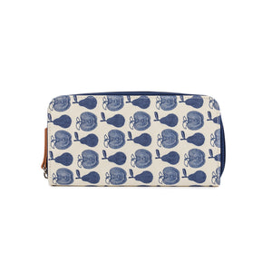 Wallet Navy Apples & Pears
