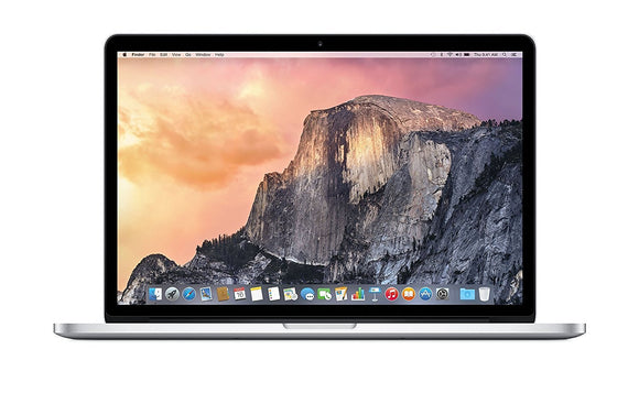 "MacBook Pro Retina 15"" 2015 Intel Core i7 / 16GB RAM / 256GB SSD / Integrated Graphics (Refurbished)"