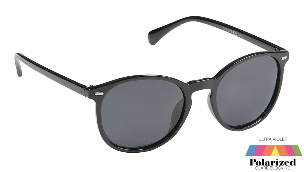 Chrissie Black Polarized Ladies Sunglasses