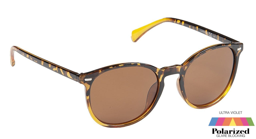Chrissie Tortoiseshell Polarized Ladies Sunglasses