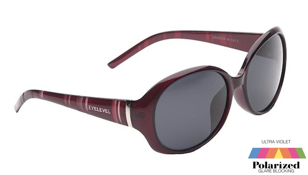 Jocelyn Purple Polarized Ladies Sunglasses