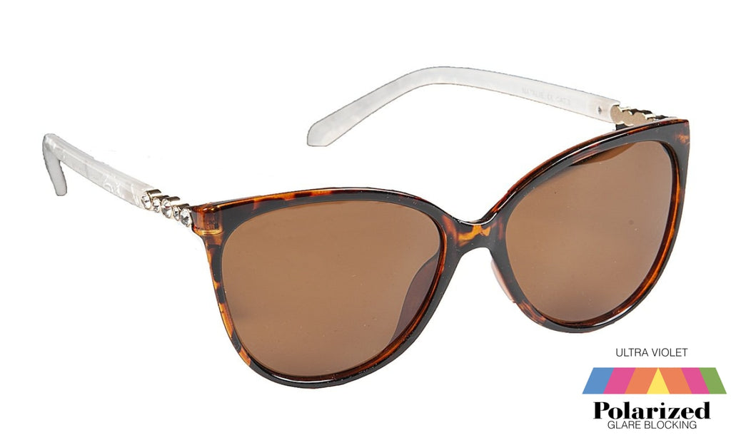 Natalie Brown Polarized Ladies Sunglasses