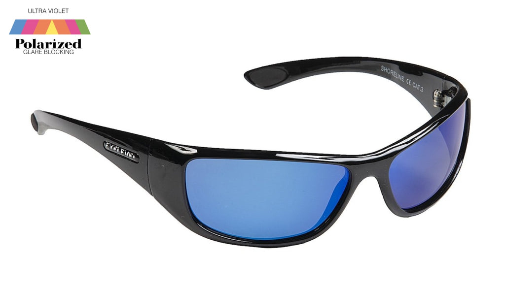Shoreline Blue Polarized Sports Glasses