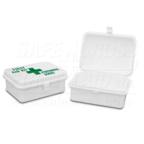 "Plastic Box, Promo Medium, w/Label, 14 x 10.8 x 5.7 cm (5-1/2"" x 4-1/4"" x 2-1/4"")"