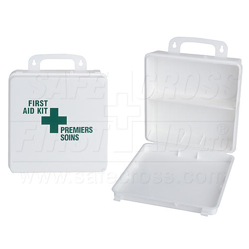 "Plastic Box, 24 Unit, w/Imprint, 25.1 x 25.1 x 7.9 cm (9-7/8"" x 9-7/8"" x 3-1/8"")"