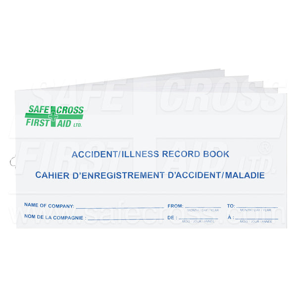 Safecross® Accident Record Books