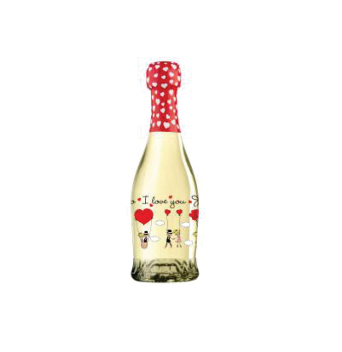 Villa Jolanda 'I Love You' Vino Spumante  (Mini) 187ml