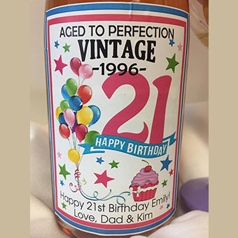 Birthday Label