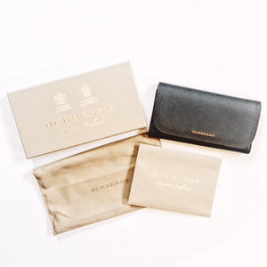 Burberry Leather Wallet - Black