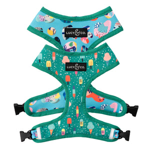 Lucy & Co. - Ice Cream Dream Reversible Harness