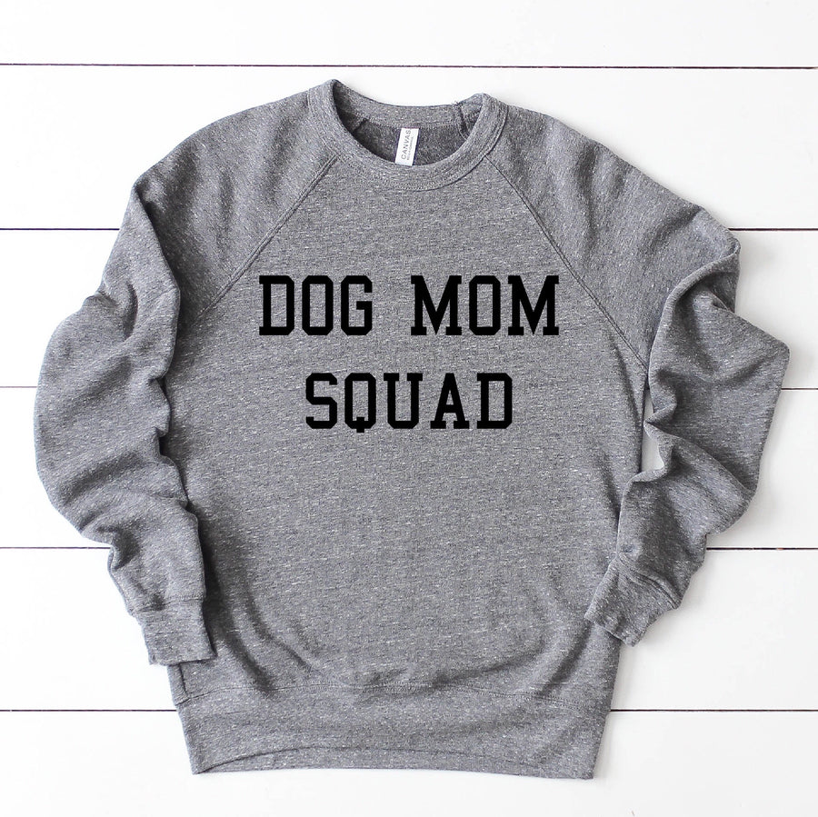 Dog Mom Squad Crewneck Sweatshirt