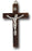 2-inch Wood Cross With Metal Corpus