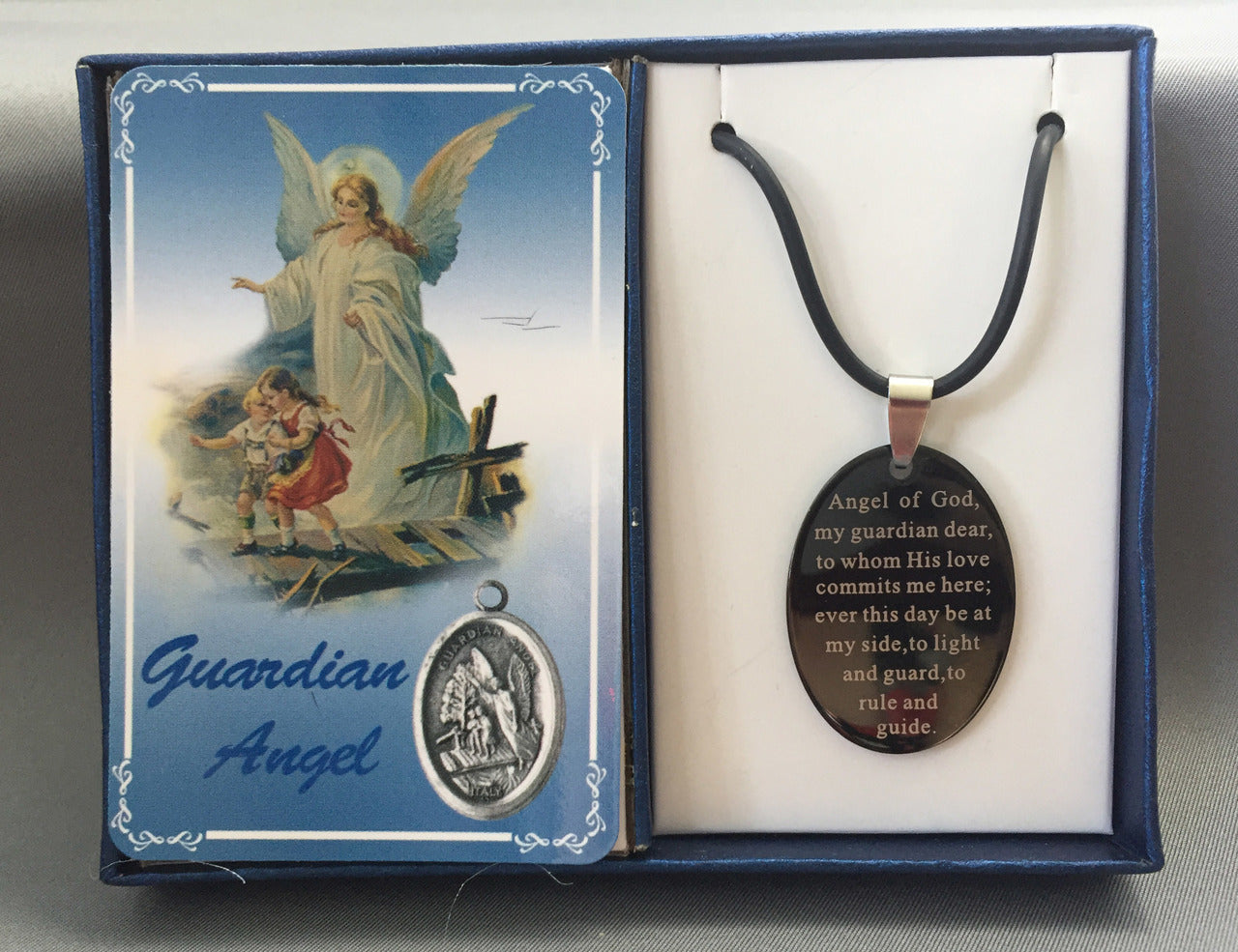 Guardian Angel, Angel Jewelry Stainless Steel Pendant Set