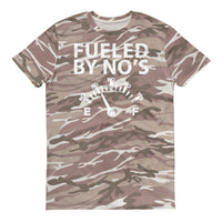 FUELED BY NO'S CAMO Short-sleeved camouflage t-shirt