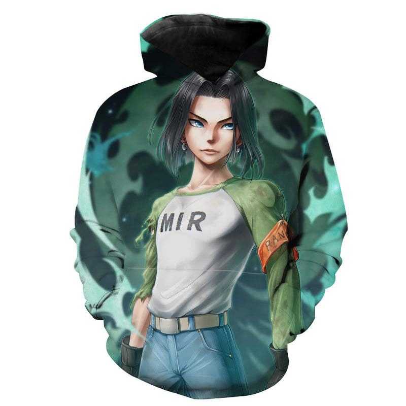 Android 17 Hoodie