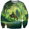 Zelda Sweatshirt - Link Sweater - Legend of Zelda Clothing