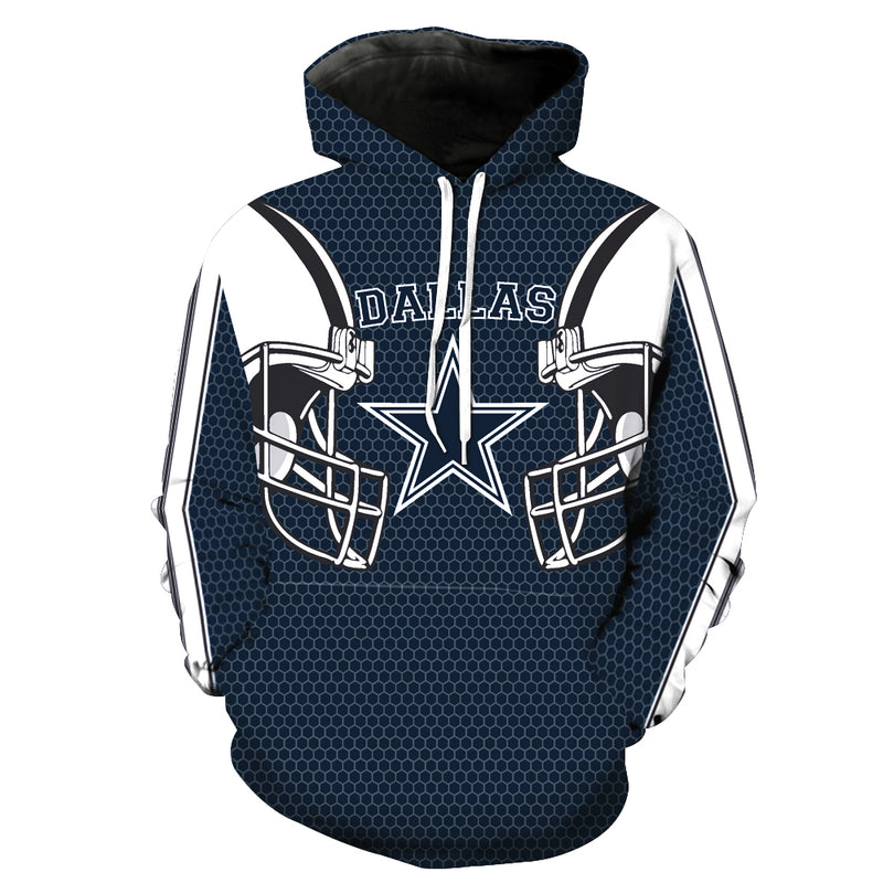 Dallas Cowboys Hoodie Pullover - NFL Football Hoodies