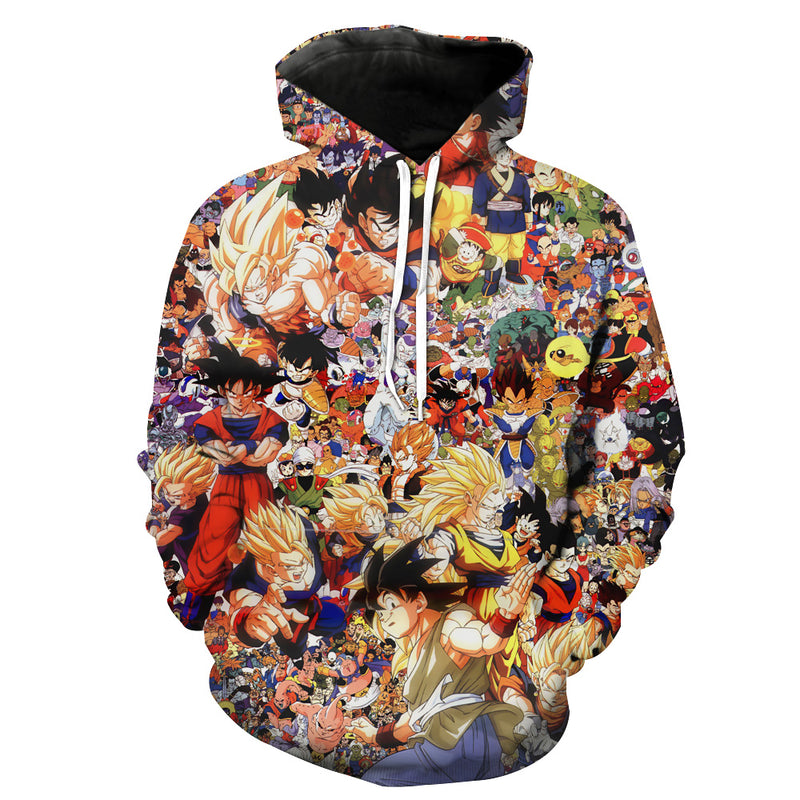 Dragon Ball All characters hoodie