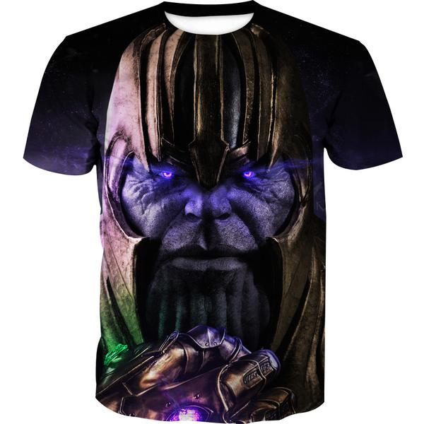 Epic Gauntlet Thanos T-Shirt - Villain Themed Clothing