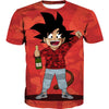 Kid Goku Bape T-Shirt Cosplay - Dragon Ball Bape Clothes
