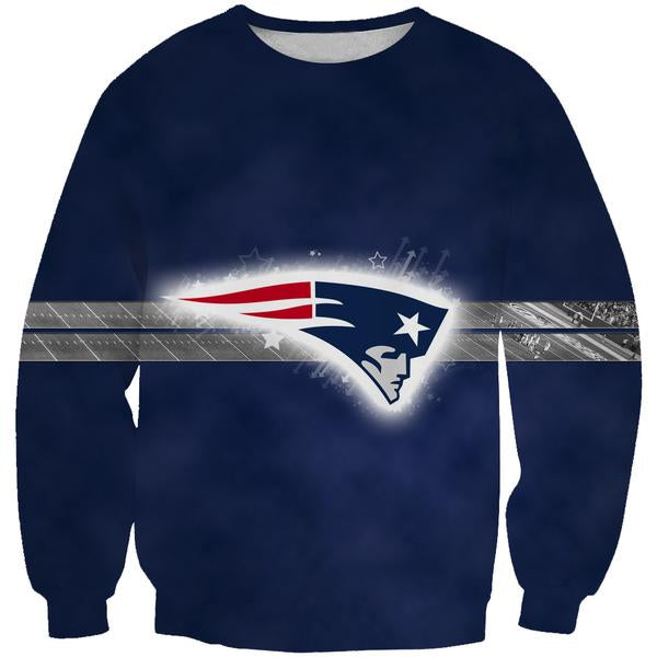 New England Patriots Sweatshirt - Football Patriots Clothes