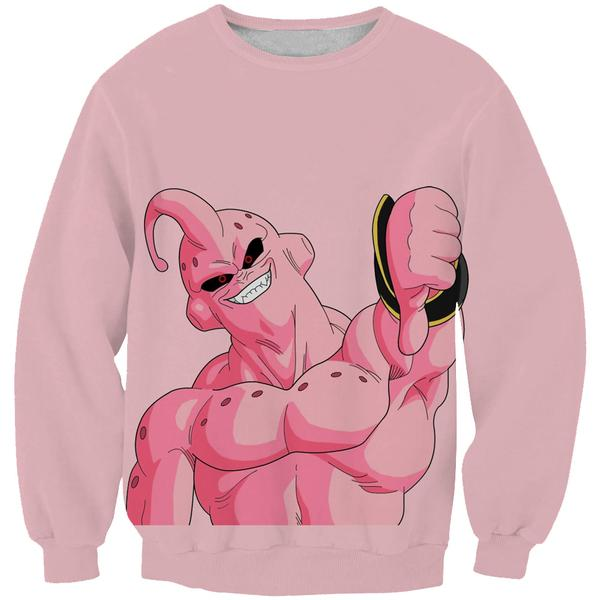 Super Buu Clothing - Dragon Ball Z Super Boo Thumbs Down Sweatshirt