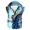 Super Saiyan Blue Vegito Hooded Tank - Dragon Ball Super Clothes