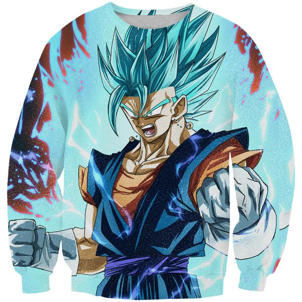 Super Saiyan Blue Vegito Sweatshirt - Dragon Ball Super Clothes