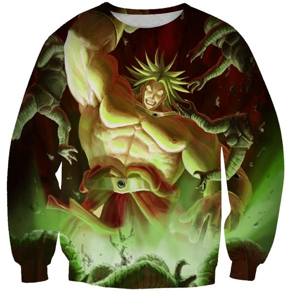 Super Saiyan Broly Sweatshirt - Dragon Ball Movie Clothes