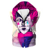 Creepy Hisoka Face Hoodie - Hunter x Hunter Clothes