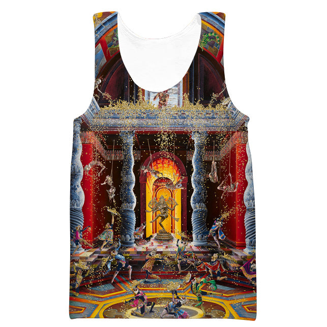 Renaissance Art Tank Top - 3D Hoodies and Clothing