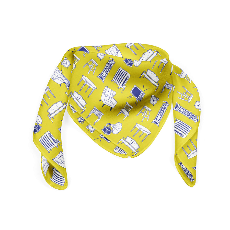 Banana Bandanas Home Sweet Home bandana furniture home illustration bandana hot mustard flat photo