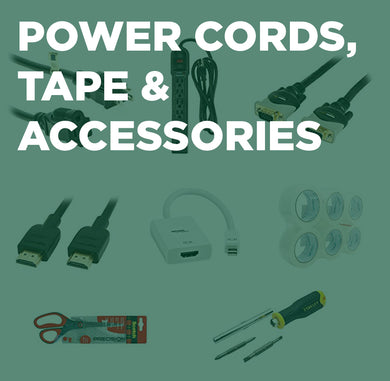 Atlanta Power Cords. Tape, & Accessories