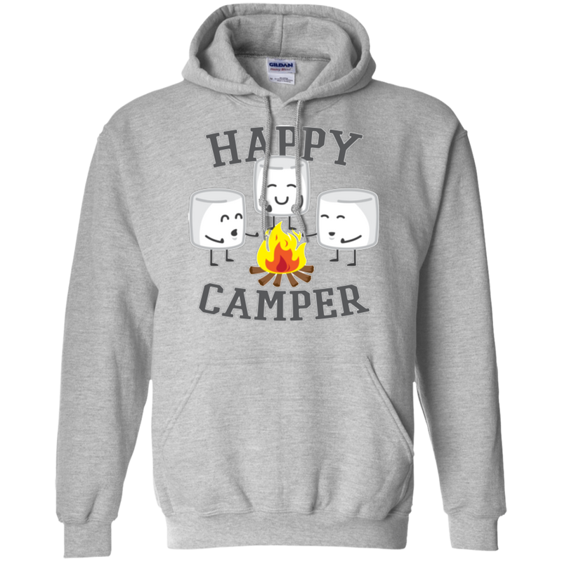 Happy Camper Marshmallows Hoodie