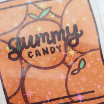Gummy Candy Sticker Flake