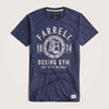 Farrell Boxing Nap Yarn Crew Neck T-Shirt - Klashcollection.com