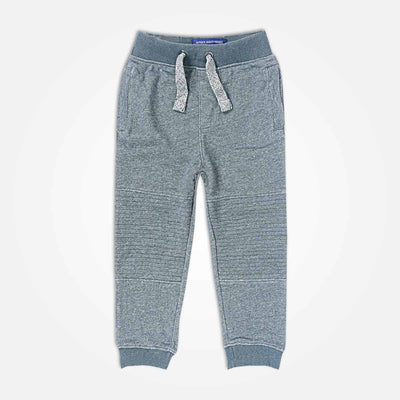 Jonah Knee Patch Close Bottom Jogger - Klashcollection.com