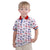 Dante Allover Printed jersey Polo Shirt